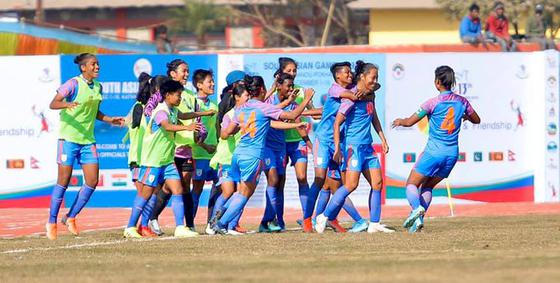 2020 Asian Games Football.Sag Games Indian Women S Football Team Clinches Gold