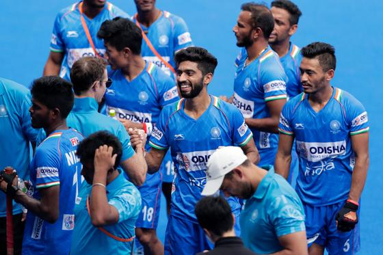 Image result for Indian men's hockey team beat Russia